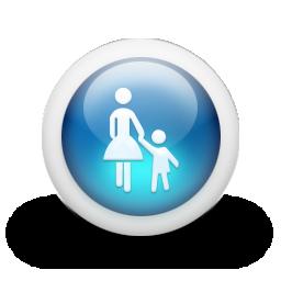 icone Zone pietonnière