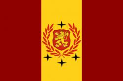 drapeau République Fédérale d'Urbania